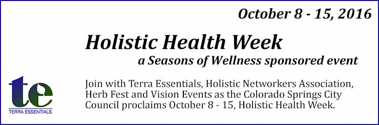 Holistic Health Week